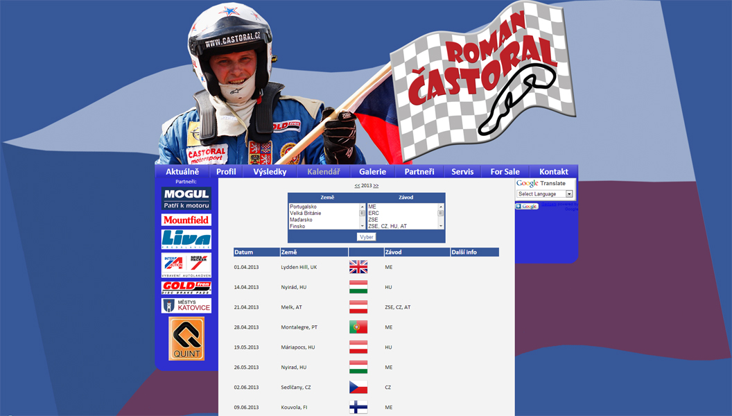 RallyeCross Team Častoral